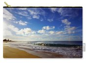 Sandy Beach Morning Rainbow Carry-all Pouch