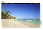 Sandy Beach On Caribbean Resort  Carry-all Pouch