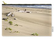 Sandy Beach On Pacific Ocean In Canada Carry-all Pouch