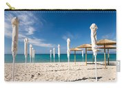 Sandy Beach Umbrellas Carry-all Pouch