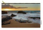 Sandy Beach Sunrise 7 - Oahu Hawaii Carry-all Pouch