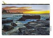Sandy Beach Sunrise Carry-all Pouch