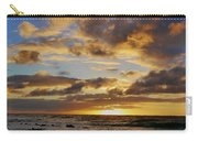 Sandy Beach Sunrise Carry-all Pouch