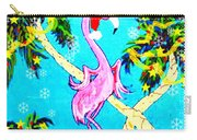 Santa Baby Flamingo Carry-all Pouch