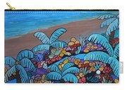 Santa Barbara Beach Carry-all Pouch by Barbara St Jean
