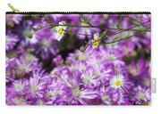 Santa Barbara Daisies In Ice Plant Carry-all Pouch