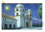 Santa Barbara Mission Moonlight Carry-all Pouch