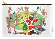 Santa Charles Jamming - Tis The Season - 2008 Carry-all Pouch