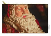 Santa Claus - Antique Ornament - 01 Carry-all Pouch by Jill Reger