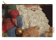 Santa Claus - Antique Ornament - 03 Carry-all Pouch by Jill Reger
