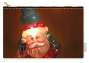 Santa Claus - Antique Ornament - 06 Carry-all Pouch by Jill Reger