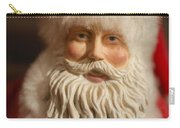 Santa Claus - Antique Ornament - 07 Carry-all Pouch by Jill Reger