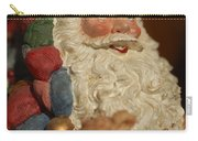Santa Claus - Antique Ornament - 09 Carry-all Pouch by Jill Reger