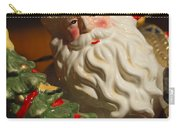 Santa Claus - Antique Ornament - 10 Carry-all Pouch by Jill Reger