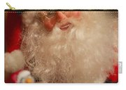 Santa Claus - Antique Ornament - 11 Carry-all Pouch by Jill Reger