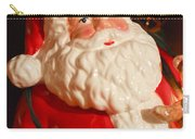 Santa Claus - Antique Ornament - 13 Carry-all Pouch by Jill Reger