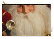 Santa Claus - Antique Ornament - 17 Carry-all Pouch by Jill Reger
