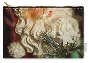 Santa Claus - Antique Ornament - 18 Carry-all Pouch
