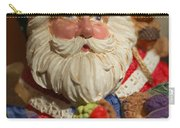Santa Claus - Antique Ornament - 20 Carry-all Pouch by Jill Reger