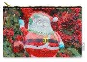 Santa Claus Balloon Carry-all Pouch