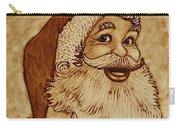 Santa Claus Joyful Face Carry-all Pouch