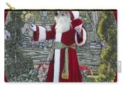 Santa Claus Walt Disney World Oval Carry-all Pouch