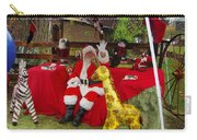 Santa Clausewith The Animals Carry-all Pouch