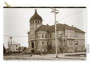 Santa Cruz High School On Walnut Street. Circa 1910 Photo By Besaw Carry-all Pouch