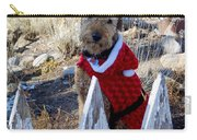 Santa Dog-2 Carry-all Pouch