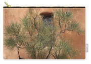 Santa Fe - Adobe Building And Tree Carry-all Pouch