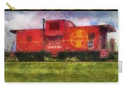Santa Fe Caboose Photo Art 02 Carry-all Pouch