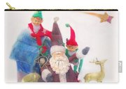 Santa Gets Ready Carry-all Pouch