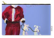 Santa Grey Carry-all Pouch