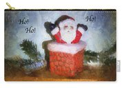 Santa Ho Ho Ho Photo Art Carry-all Pouch