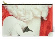 Santa Holding Key Carry-all Pouch