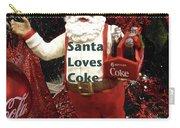 Santa Loves Coke Carry-all Pouch
