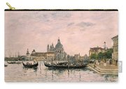 Santa Maria Della Salute And The Dogana Carry-all Pouch