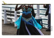 Santa Monica Belly Dancer Carry-all Pouch