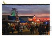 Santa Monica Pier I By Diana Sainz Carry-all Pouch