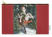 Santa Of The Northern Forest Carry-all Pouch