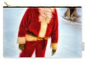 Santa On Ice Carry-all Pouch