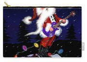 Santa Plays Guitar In A Snowstorm 2 Carry-all Pouch