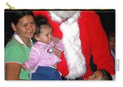Santa Poses With Fans At Annual Christmas Parade Eloy Arizona 2004 Carry-all Pouch