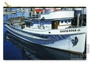 Santa Rosa Purse-seiner Fishing Boat Monterey Bay Circa 1950 Carry-all Pouch