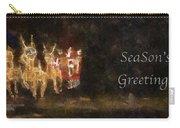Santa Season Greetings Photo Art Carry-all Pouch