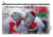 Santa The Most Precious Photo Art Carry-all Pouch