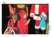 Santa Trick Or Treaters Halloween Party Casa Grande Arizona 2005 Carry-all Pouch