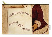 Santa Wishes Digital Art Carry-all Pouch
