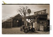 Santa Ynes Gas Station    Sepia Carry-all Pouch