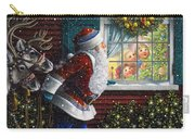 Santa's At The Window Carry-all Pouch